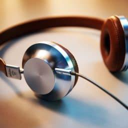 A classic pair of headphones.